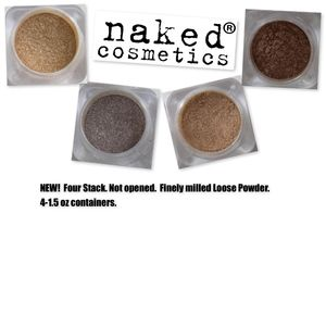NAKED Cosmetics 4 Pack.  NEVER USED OR OPENED
